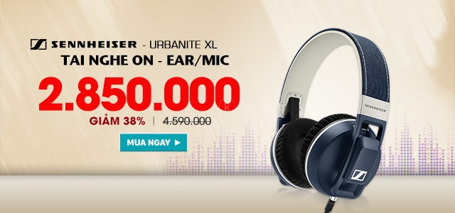 SENNHEISER - URBANITE GALAXY-DENIM - Tai Nghe On-Ear/ Mic
