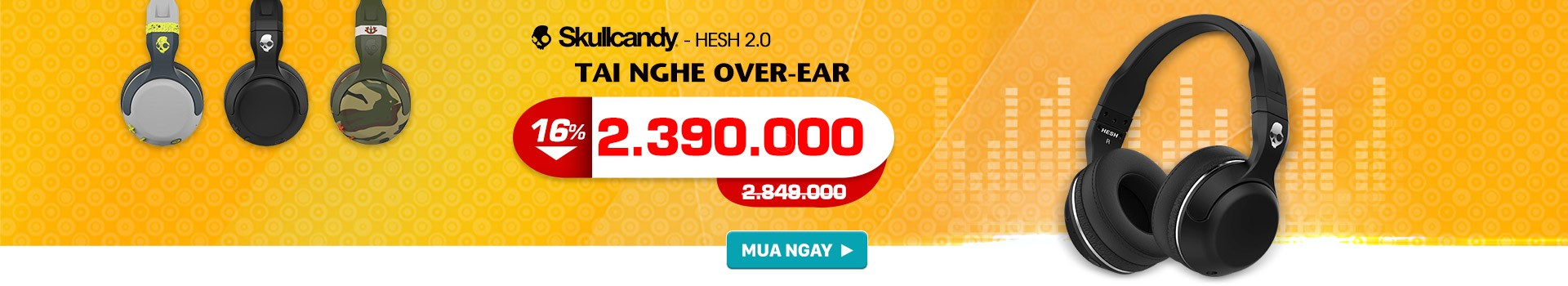 Skullcandy Hesh 2 bluetooth