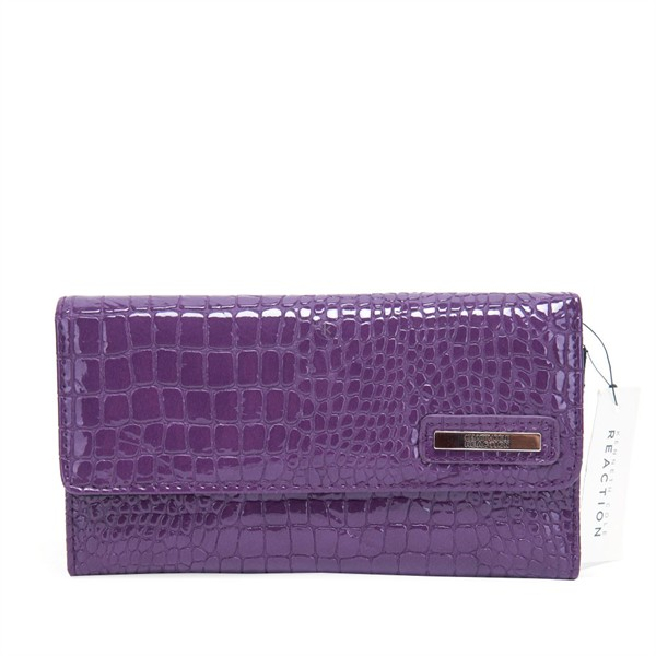 Elongated Clutch Purple  - Ví Tay Dài Màu Tím